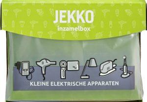 inzamelbox voor lege batterijen