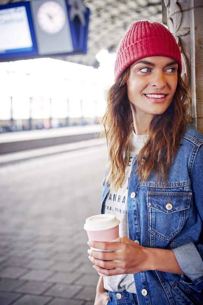 Bestel onderweg met je eigen koffiebeker