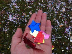plastic confetti met carnaval