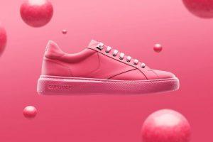 Een schoen gemaakt van kauwgom, het bestaat!