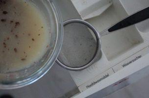 wasmiddel van kastanjes