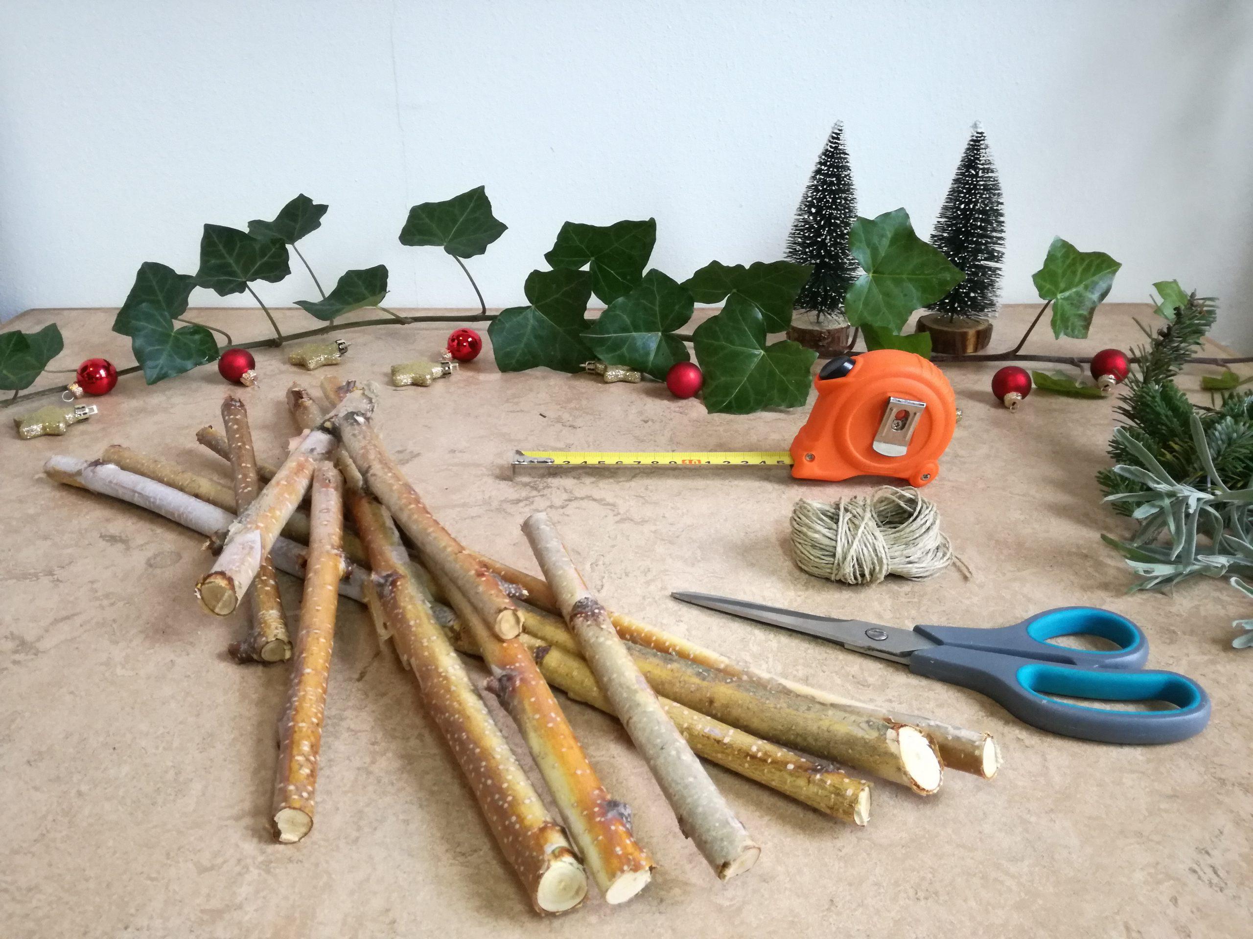 DIY kerstster stap 1
