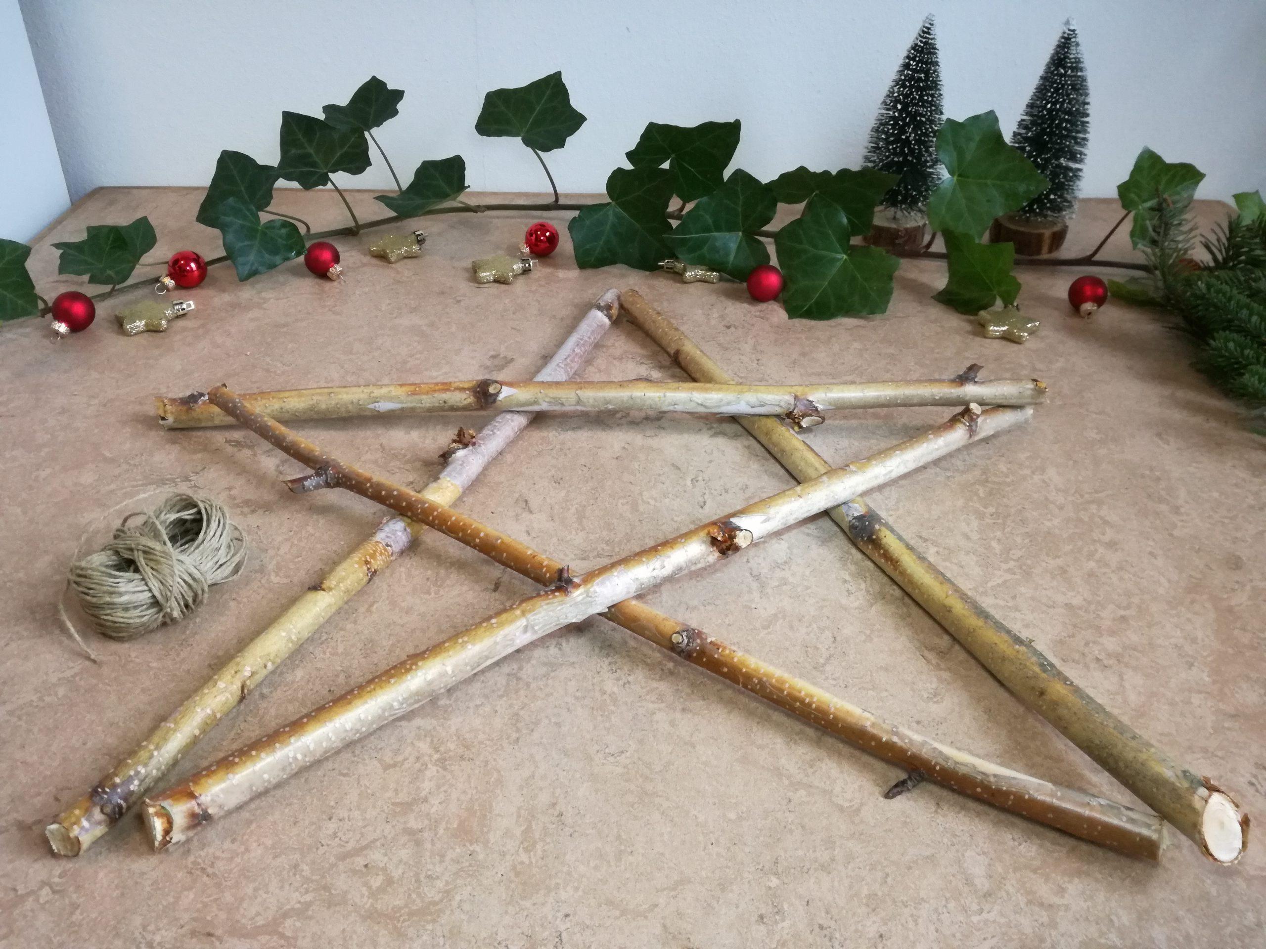 DIY kerstster stap 2