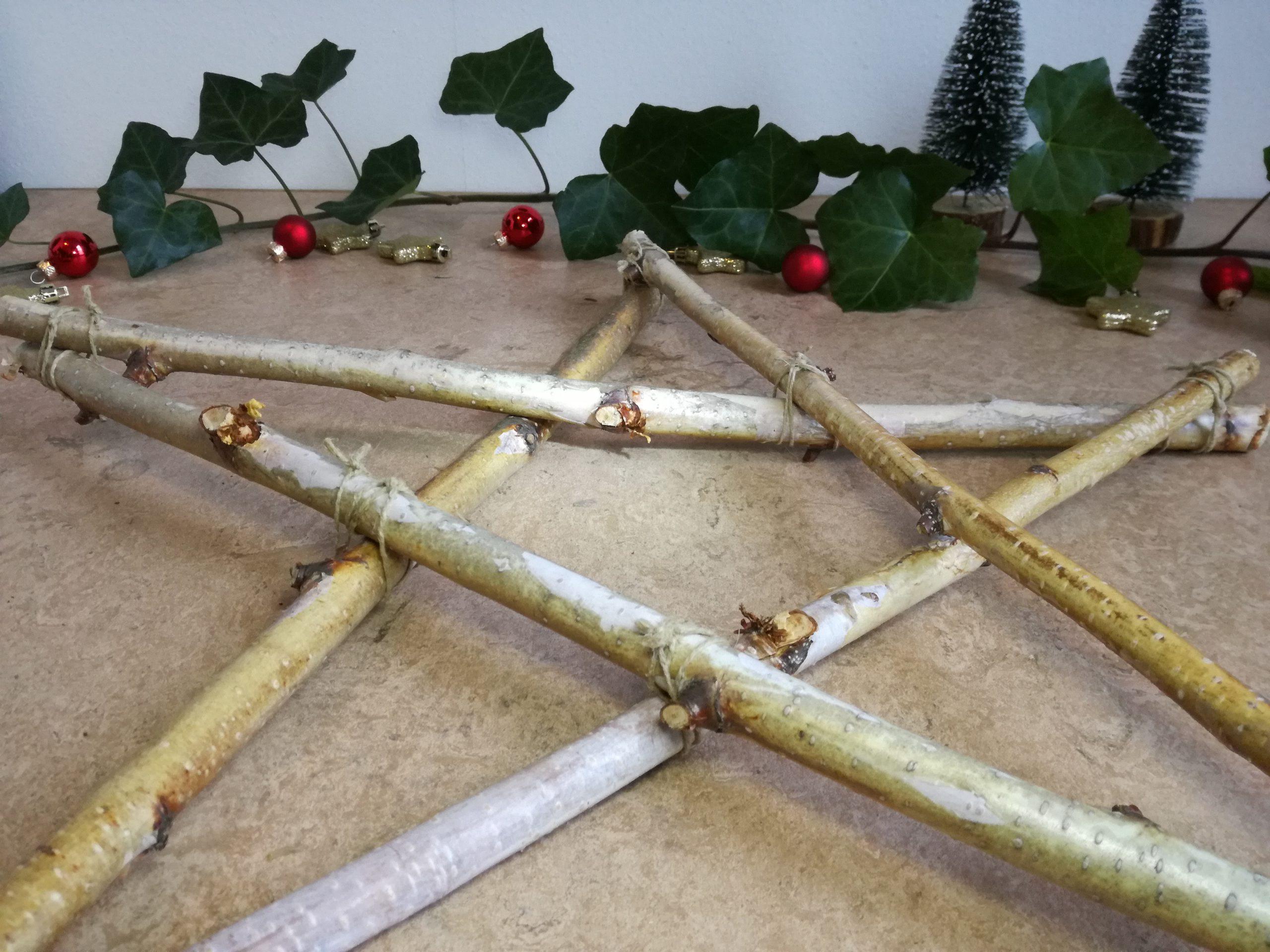 DIY kerstster stap 3.2