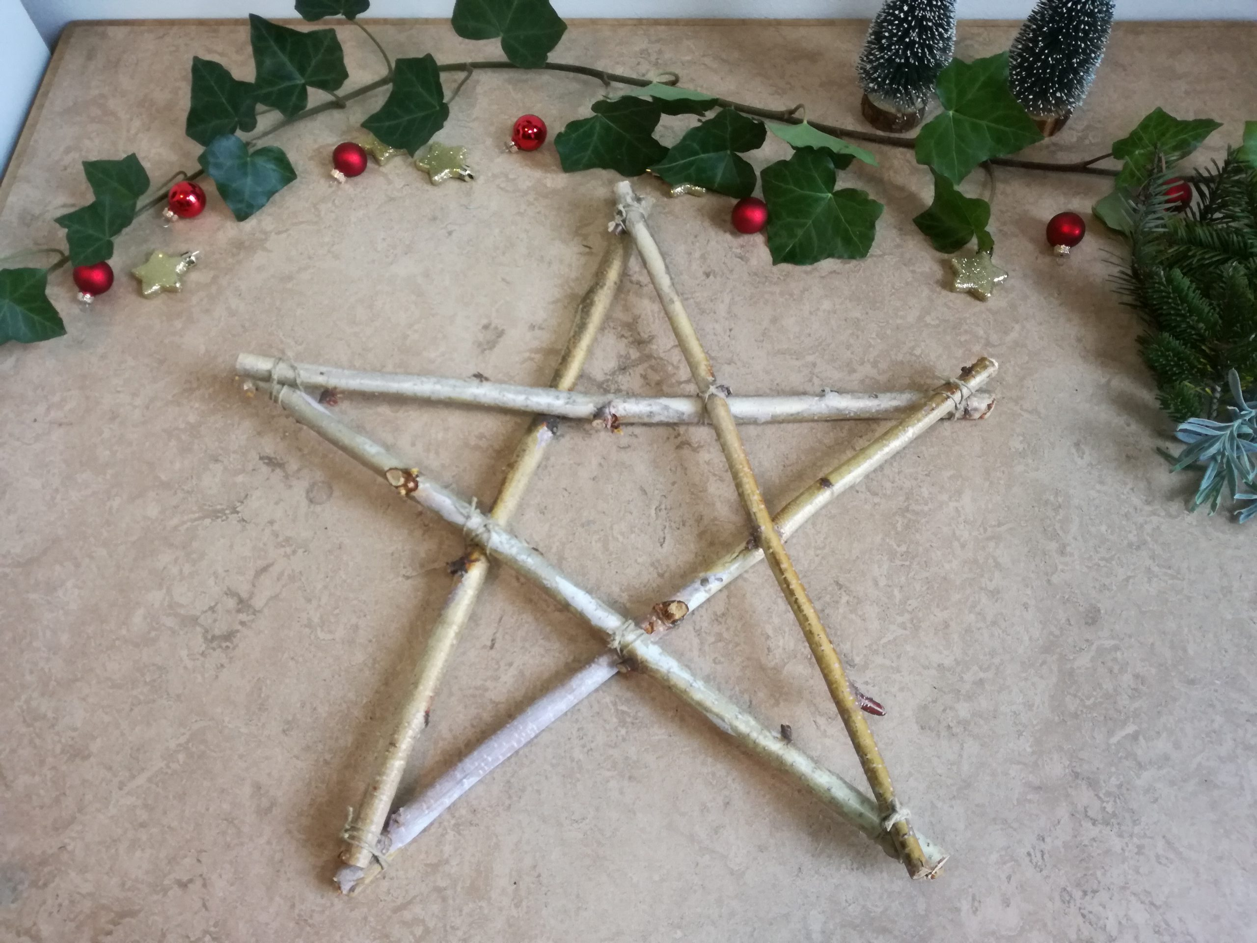 Kerstster stap 4