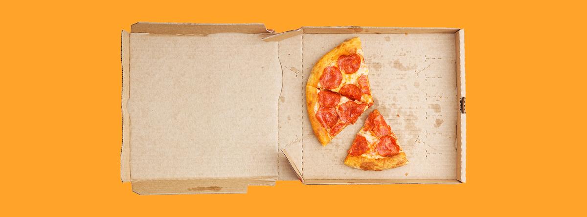vieze pizzadoos